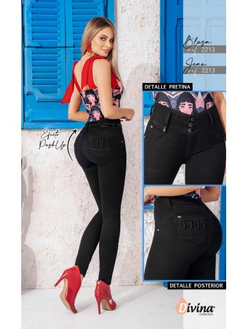 Push Up jeans made in Colombia - DV2213
